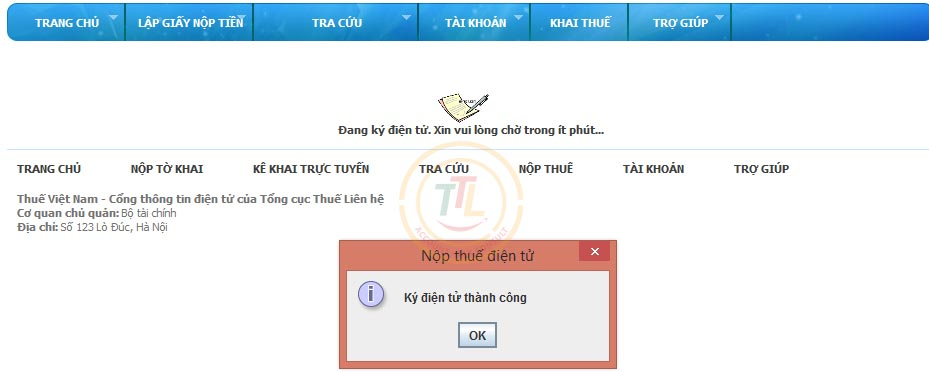 hướng dẫn đăng ký nộp thuế qua mạng
