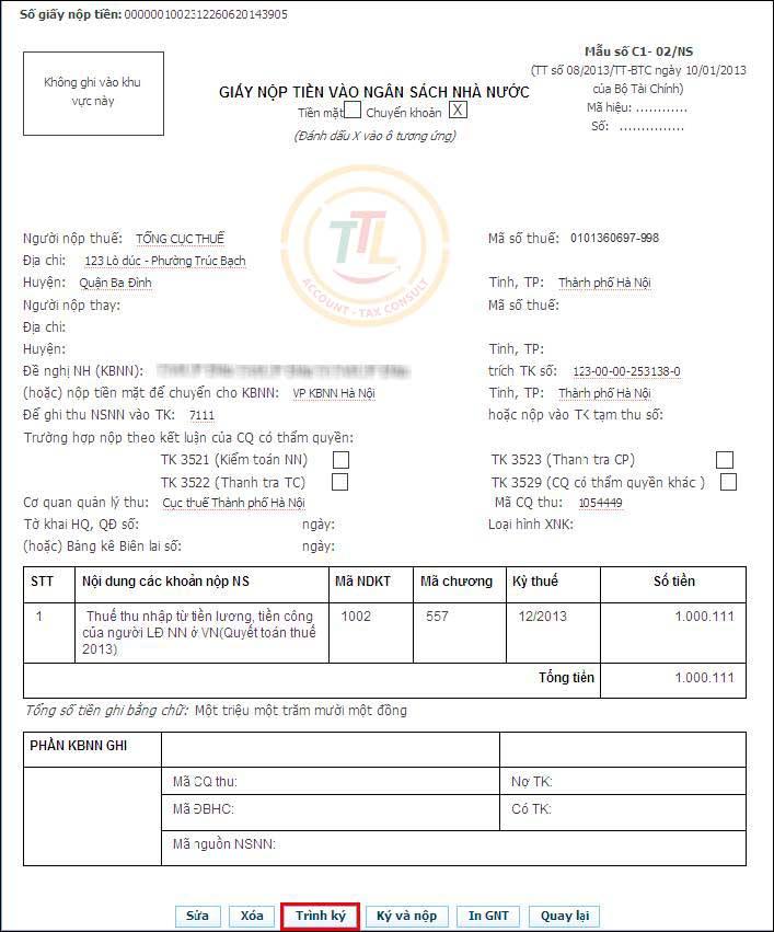 hướng dẫn đăng ký nộp thuế online qua mạng điện tử