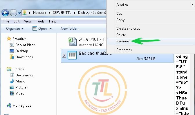 hướng dẫn cách sửa lỗi đổi tên file xml đơn giản nhất 2019